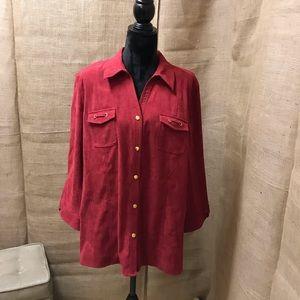 JM Collection Button Down Shirt